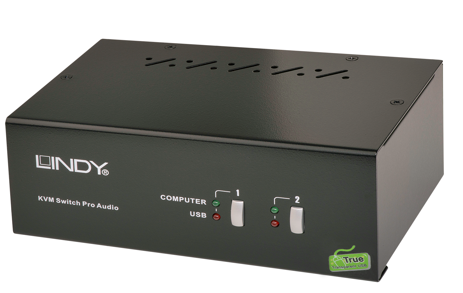Switch KVM Pro 2 porte DVI Dual Head Dual Link Audio USB 2.0