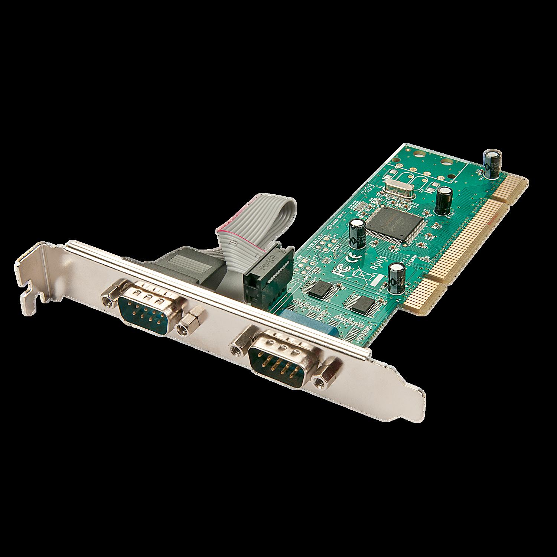 Scheda PCI 2 porte seriali RS232