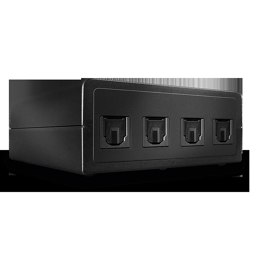Auto Switch Audio Ottico, 4 Porte